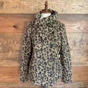NWT BB Dakota Leopard Coat
